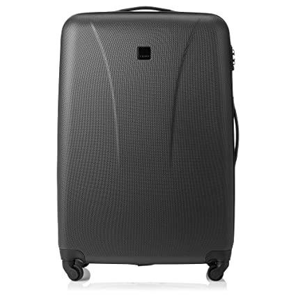 f5c00490c Image Unavailable. Image not available for. Colour: Tripp Black Lite 4  Wheel Large Suitcase