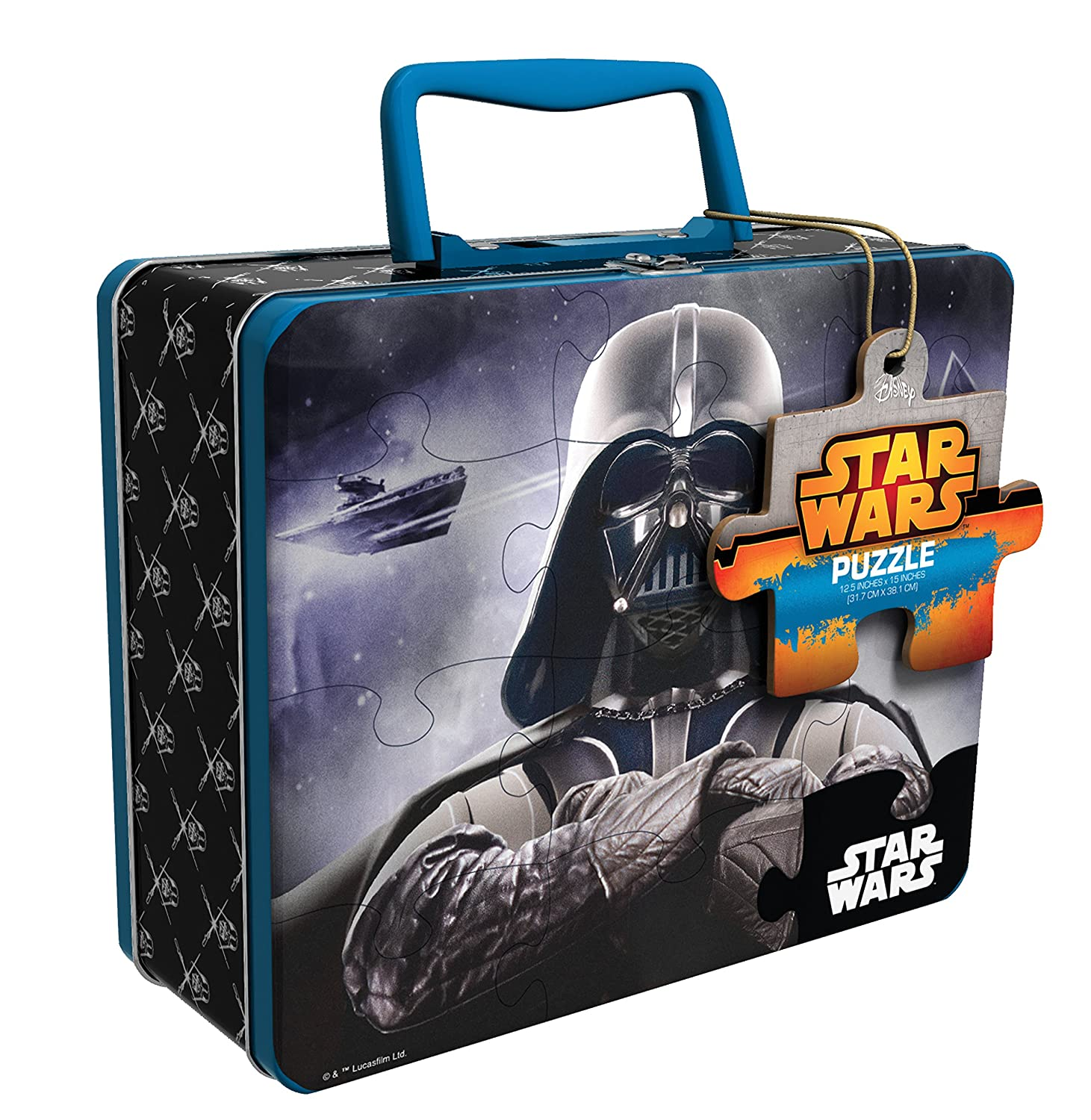 sc 1 st  Amazon.com & Amazon.com: Star Wars Tin with Handle Puzzle (48 Piece): Toys u0026 Games Aboutintivar.Com