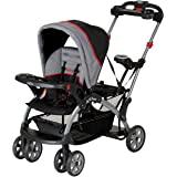 Baby Trend Sit N' Stand Ultra Stroller , Red,gray and black, Pack of 1