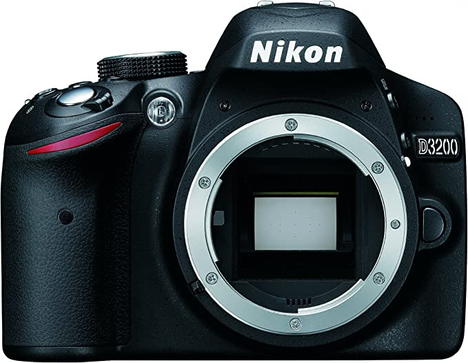 Nikon D3200 Body - Cámara digital Negro (Reacondicionado): Amazon ...