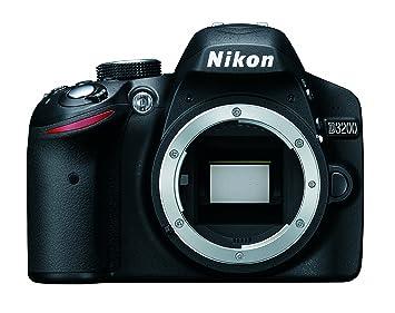 Nikon D3200 Body - Cámara digital Negro (Reacondicionado ...
