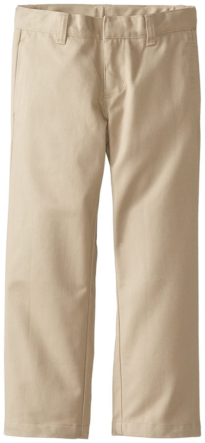 Lee Boys' Slim Straight Twill Flat Front Pant K9480L