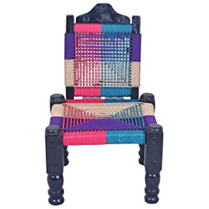 Aashi Enterprise High Wooden Back-Foldable Chair (Multiclour)