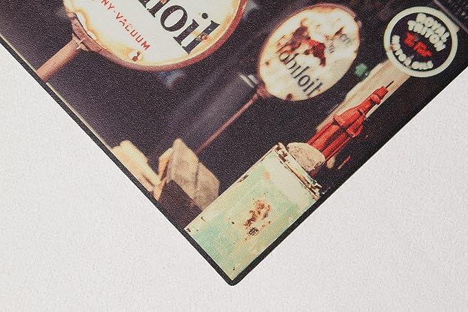 Unique Tapis Vn03 Gasoline Tapis Vinyle Argent 120 x 50 cm