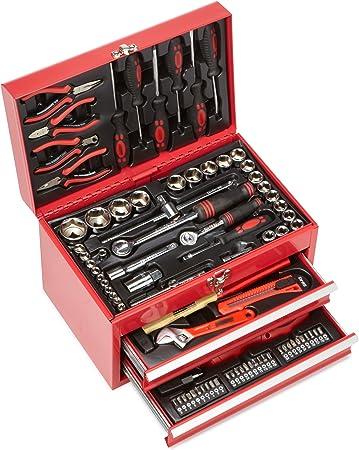Mannesmann M29066 - Caja de herramientas equipada con 155 piezas ...