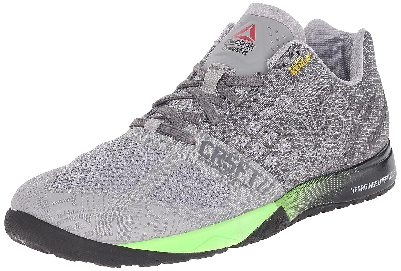 luistella kengät uusi elämäntapa laaja valikoima Reebok Men's Crossfit Nano 5.0 Training Shoe, Tin Grey/Shark/Solar  Green/Black, 8 M US