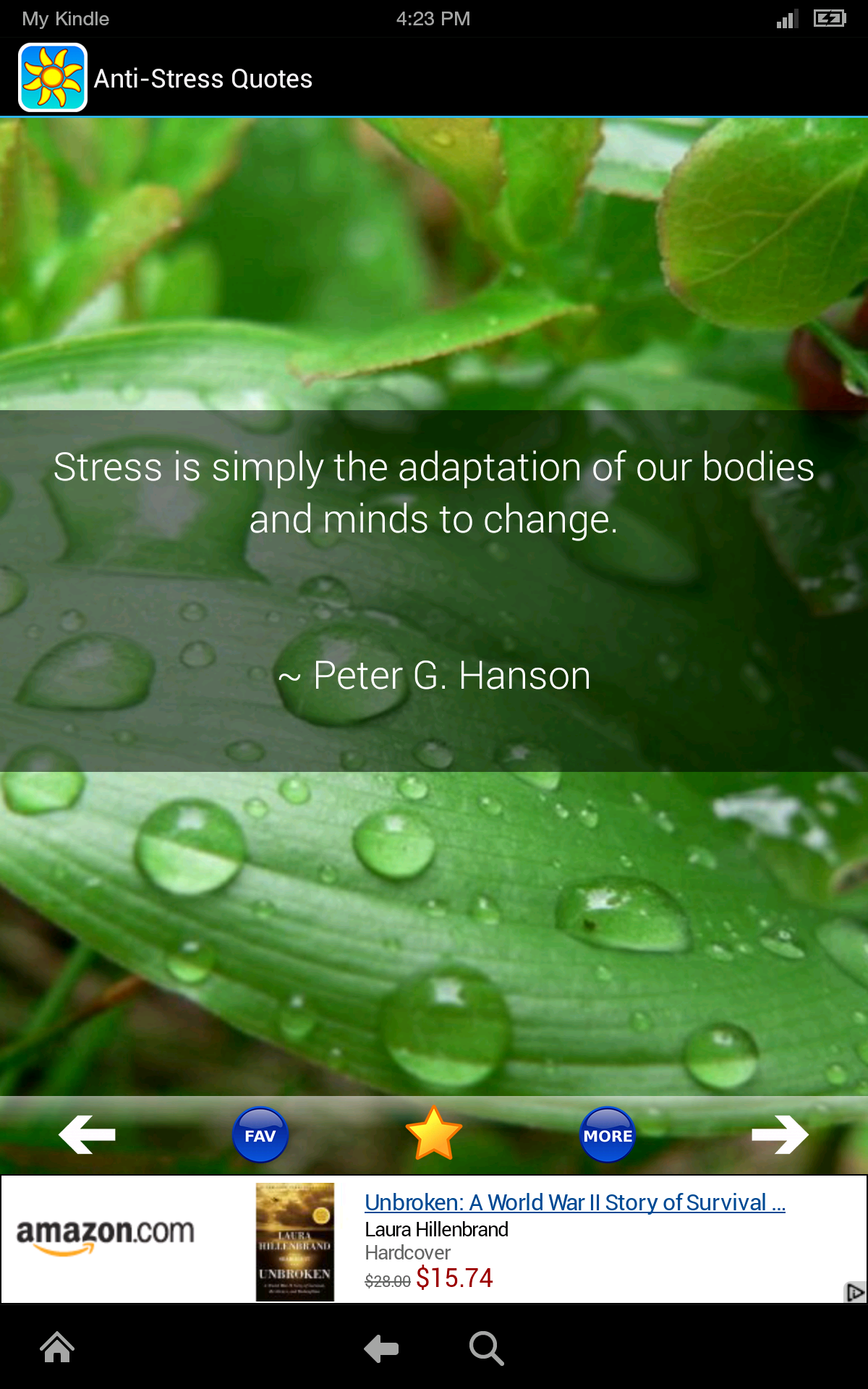 Anti-Stress Quotes: Self Help Stress Relief, Anger Management, Anxiety  Reduction, Worry Reliever, and Relaxation Tracker!