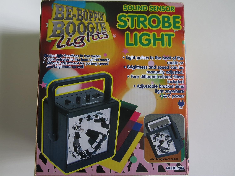 Be Boppin Boogie Lights Sound Sensor Strobe Light Adjustable Musical Instruments