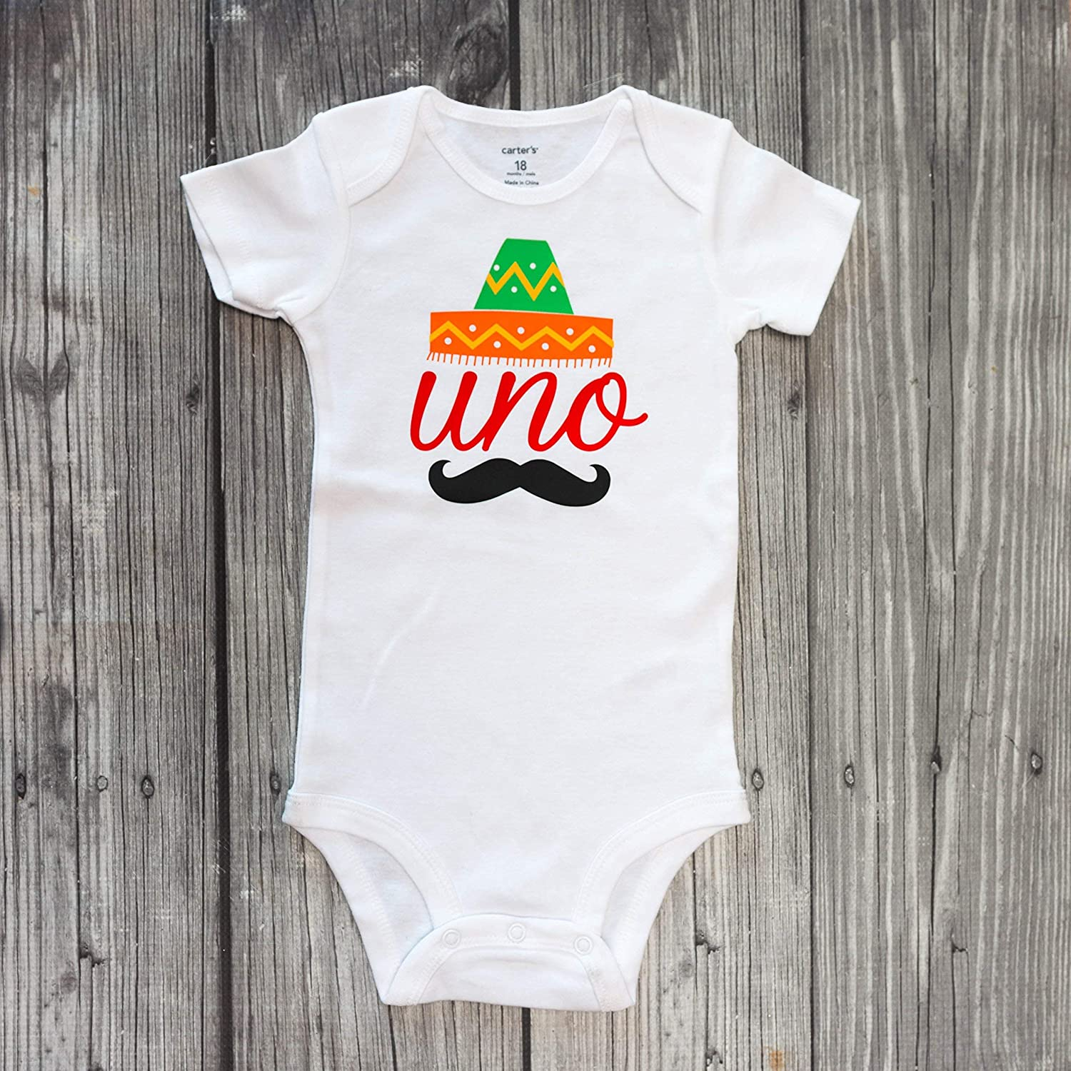 Colorful Fiesta 12 Monthly Bodysuits for Baby/'s 1st Year