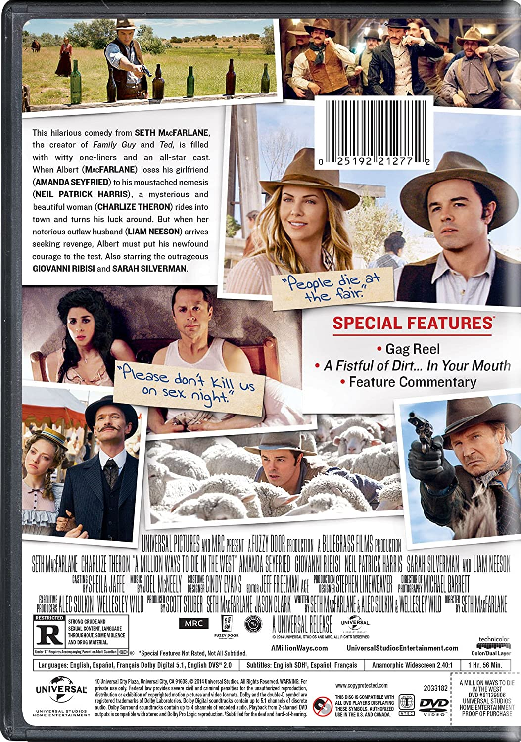 a million ways to die in the west unrated download