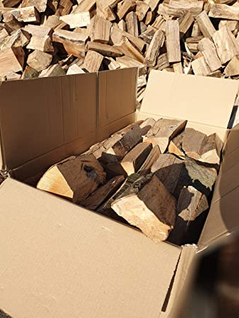 25 cm de longitud de tronco barbacoa de madera 120 kg de madera de haya le/ña