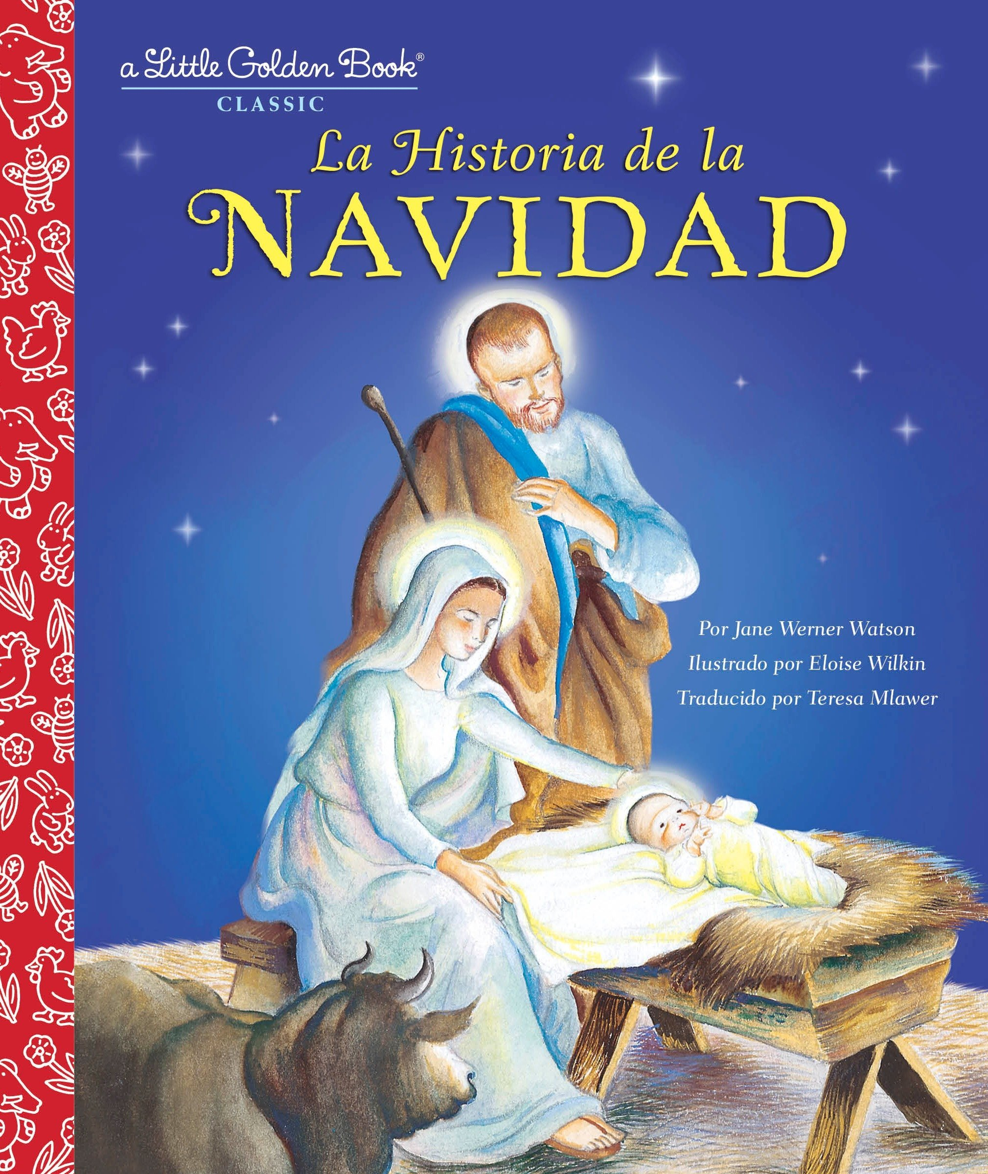 Amazon.com: La Historia de la Navidad (Little Golden Book ...