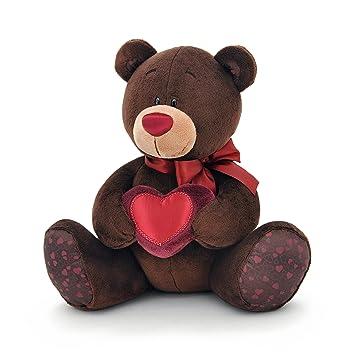 Naranja Toys 1/003/25 Choco con corazón – oso de peluche para niños
