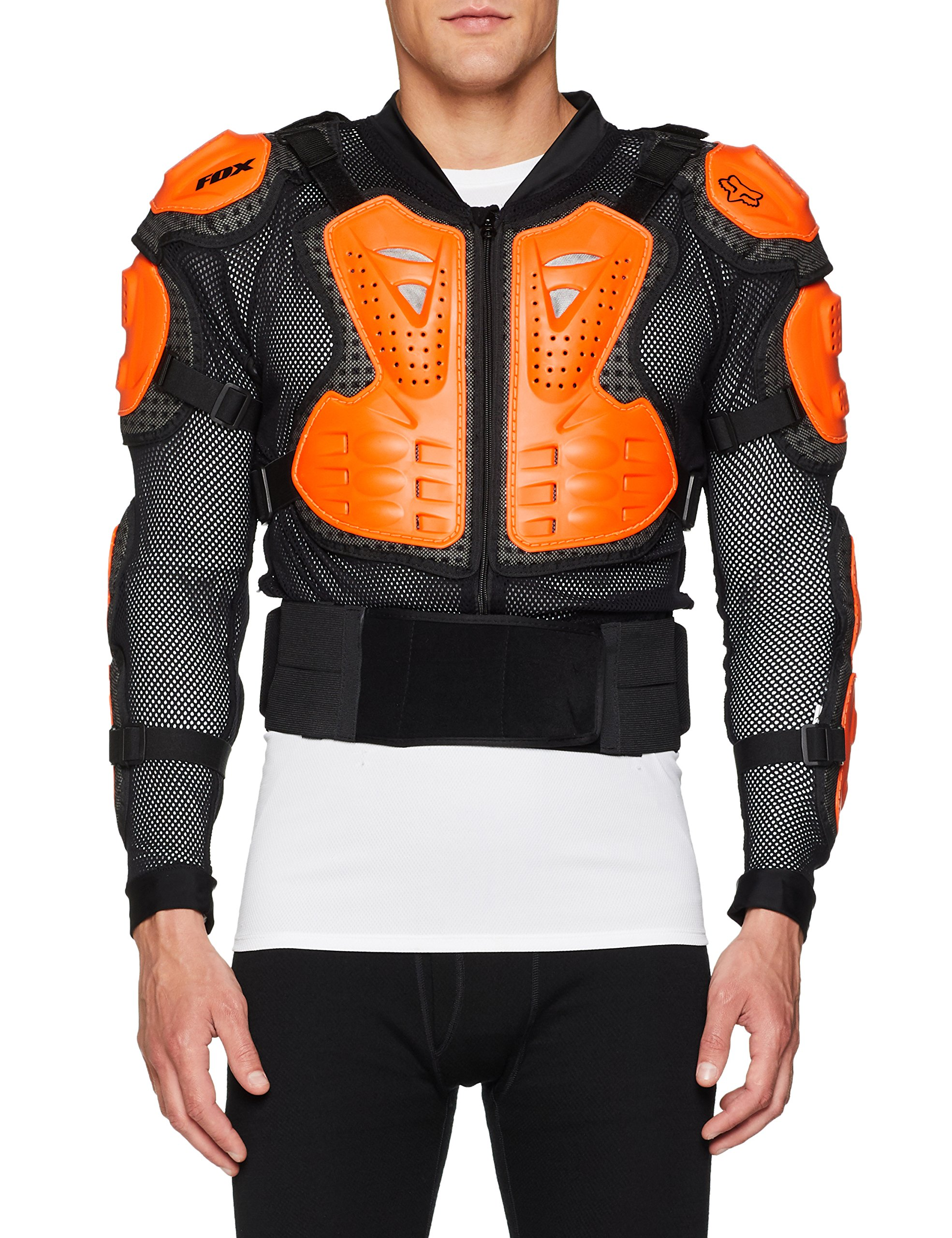 Fox Racing Titan Sport Jacket-Black/Orange-L by Fox Racing (Image #1)