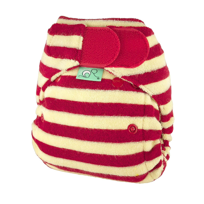 TotsBots Bamboozle Stretch Nappy (Size 1, Berry) 5060131213699
