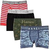 【 Hanes ヘインズ】 メンズ ボクサーパンツ ランダム 3枚 4枚 5枚 セット おまかせ シンプル S M L LL 3L 4L 5L 大きい