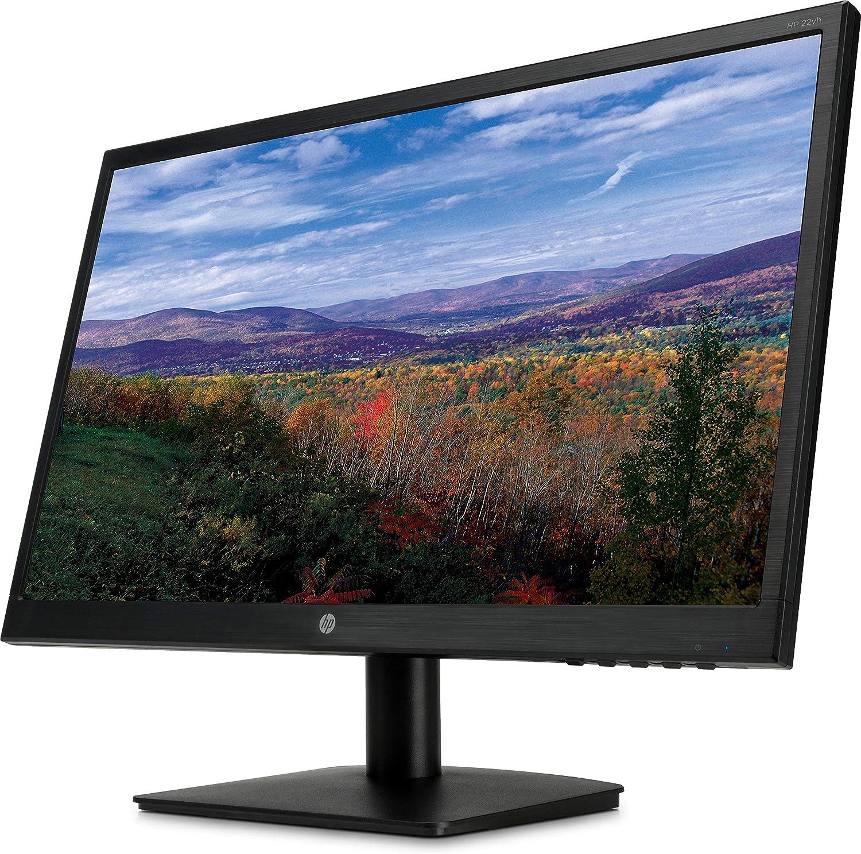 Amazon.com: HP Monitor Full HD de 21,5 pulgadas con ajuste de inclinación y  panel antirreflejos (22 yh, negro): Computers & Accessories