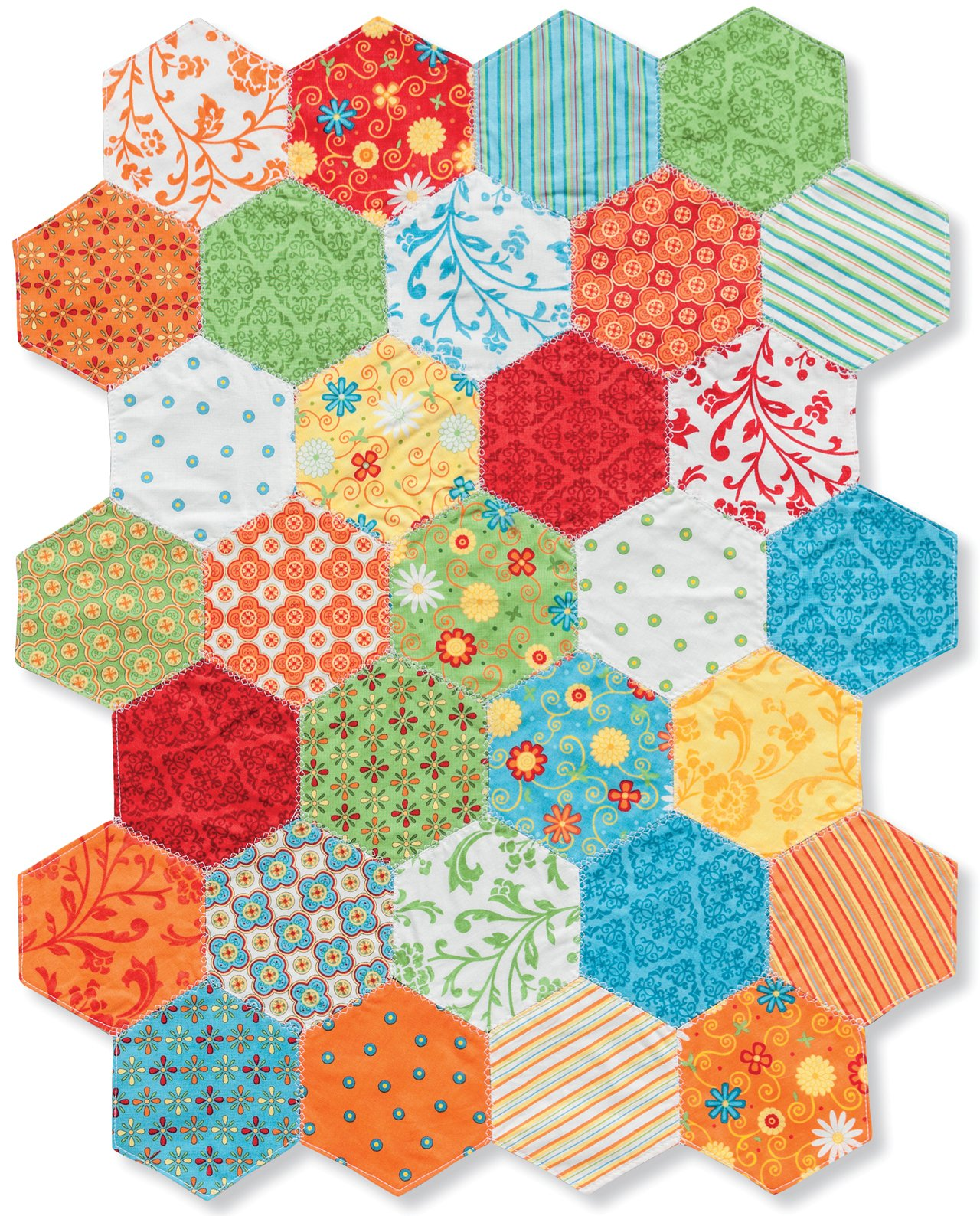 Hexagons Made Easy Machine Techniques for Exceptional Quilts Jen