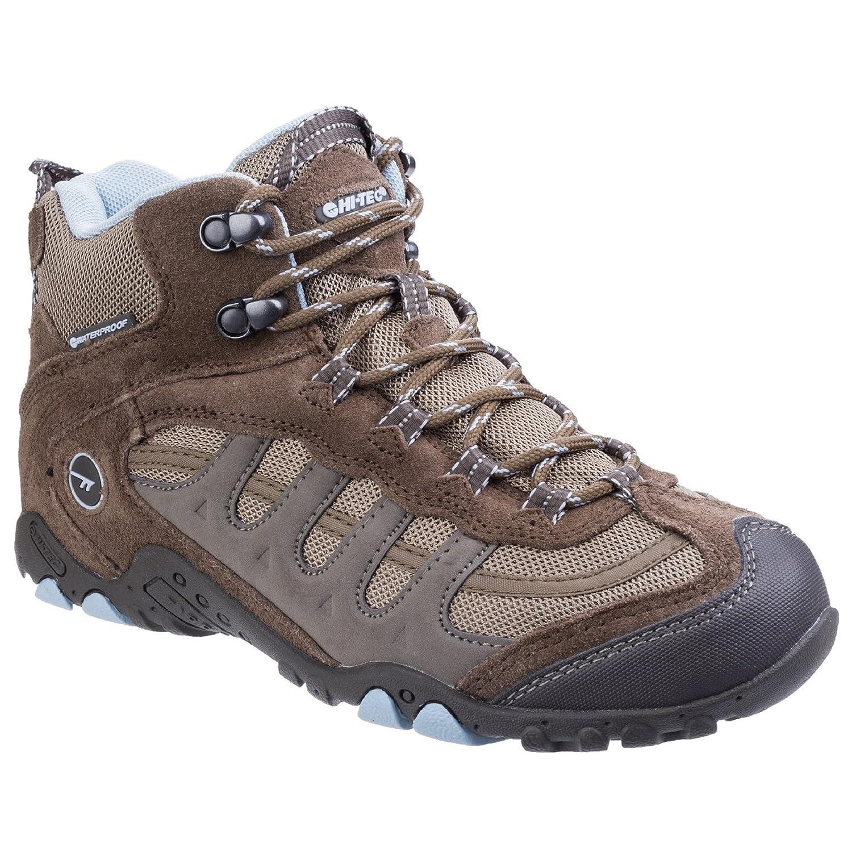 Hi-Tec - Botas de montaña Impermeables Modelo Penrith para Mujer (42 EU) (Carbón/Ciclamen): Amazon.es: Zapatos y complementos