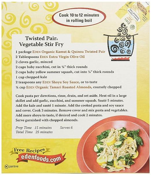 Eden pasta recipes