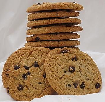 Amazon Com Homemade Chocolate Chip Cookies 1 Dozen