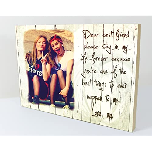 Christmas Gift Ideas For Girl Best Friends: Personalised Photo Frame: Amazon.co.uk