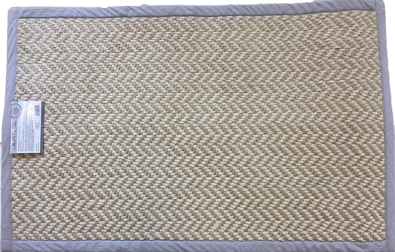 Allure Home Creation Foam Border Bath Rug - Grey