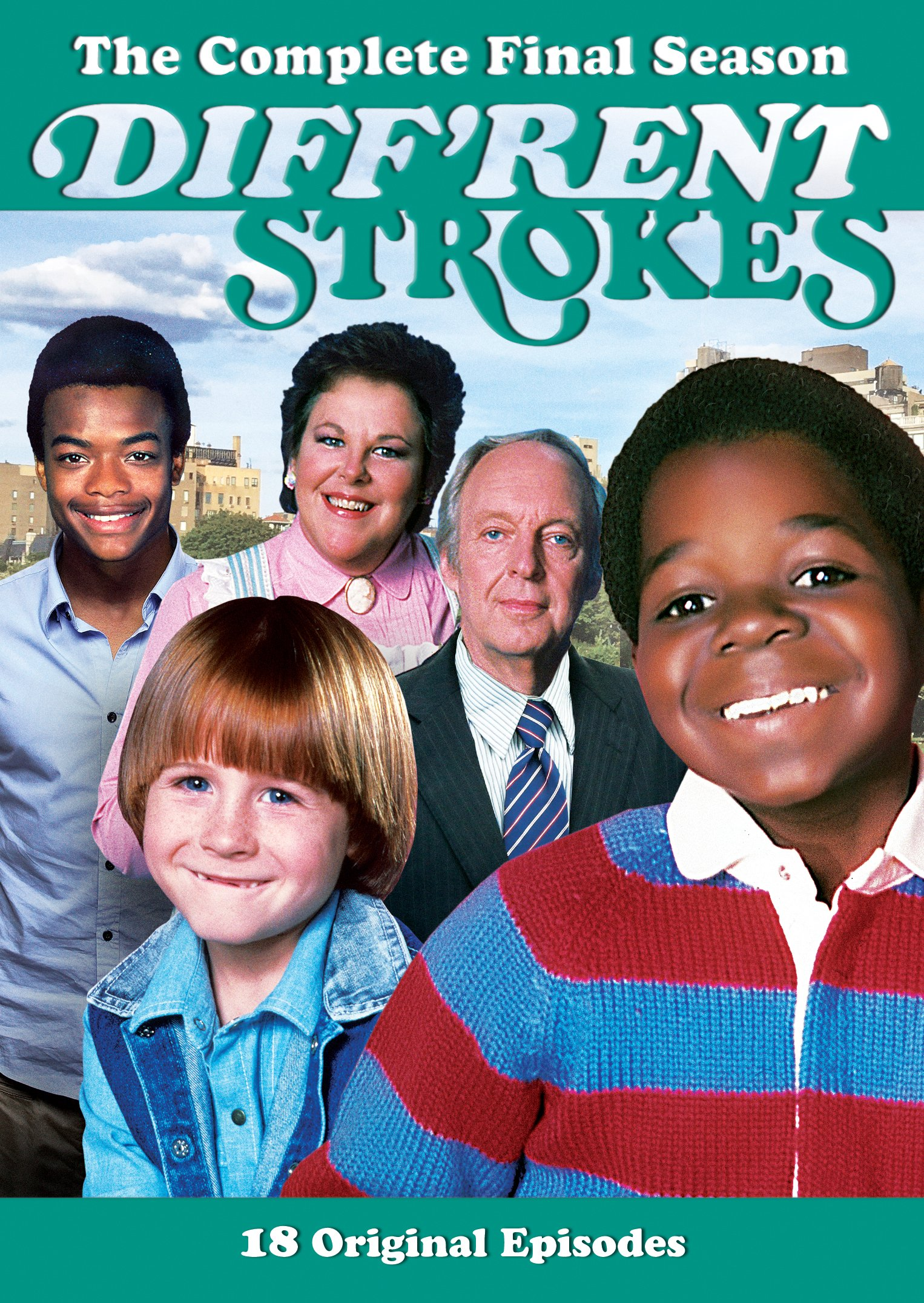 DVD : Diff'rent Strokes: The Complete Final Season (Full Frame, 2PC)