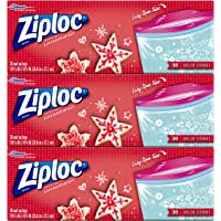 Ziploc Limited Edition Holiday Storage Bags, Gallon 114 Count