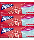 Ziploc Limited Edition Holiday Storage Bags, Gallon, 114 Count