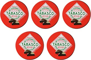 "product image for Tabasco ""Spicy Dark Chocolate Wedges"" - Pack of 5 - 1.75 oz each"
