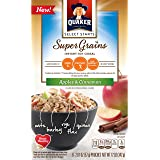Quaker Instant Oatmeal Select Starts Super Grains, Apple Cinnamon, 6 Packets