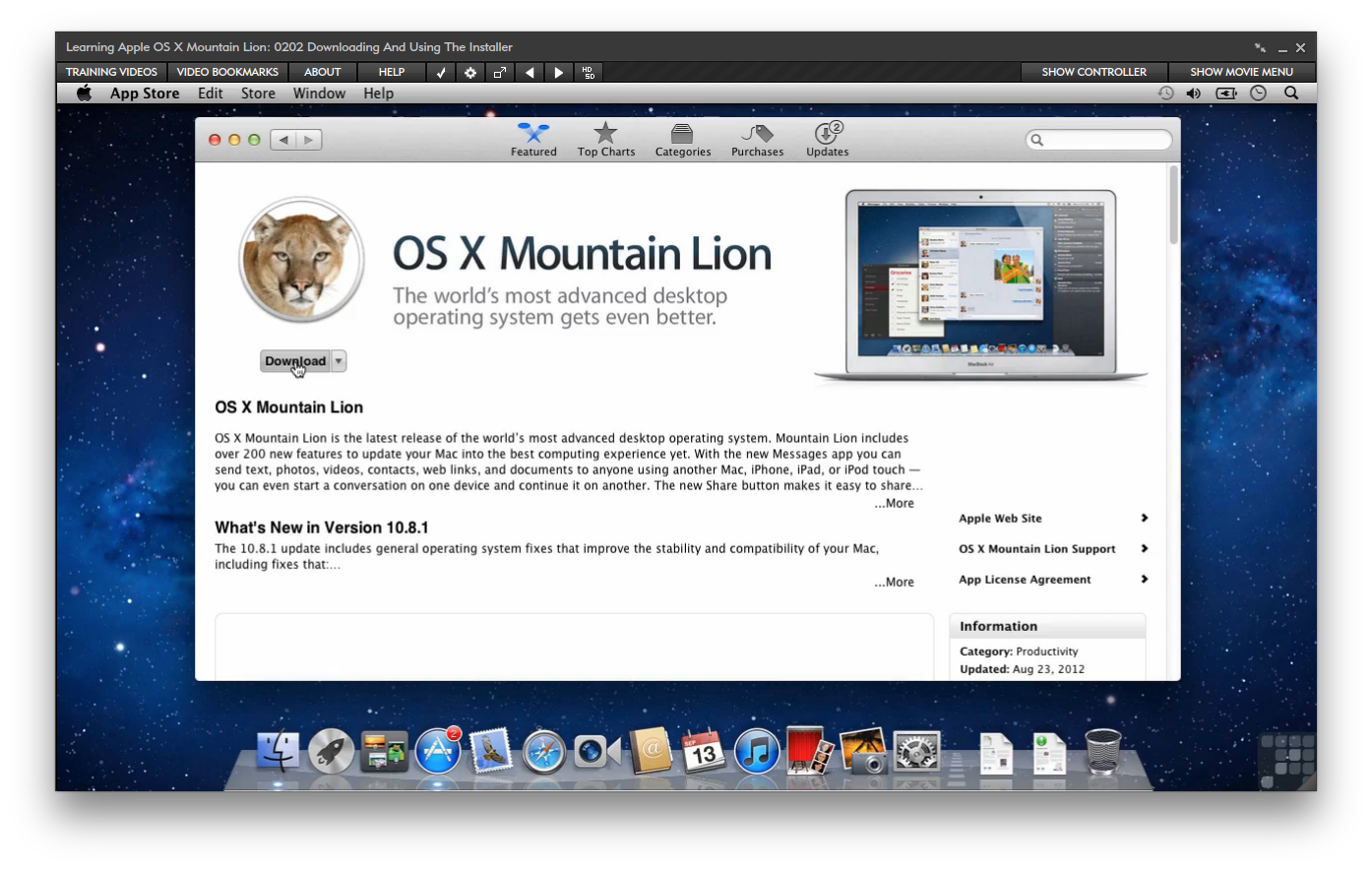 Amazon com: Apple OS X Mountain Lion [Online Code]: Software