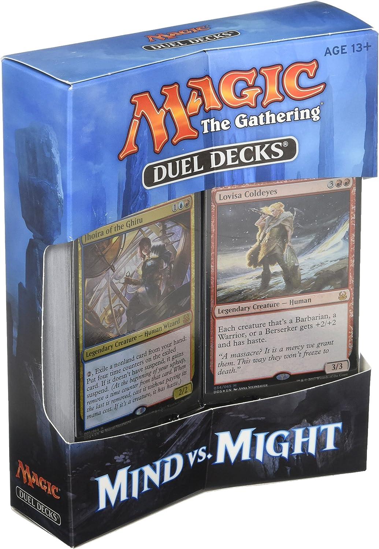 Duel Decks - Mind vs. Might - English - Magic: The Gathering: Amazon.es: Juguetes y juegos