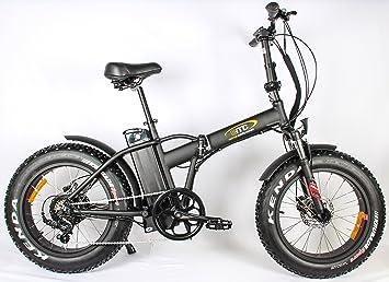 e37b21cd3fd2b7 EMC E-Falt-Fatbike 20 Zoll 250 Watt Elektromotor Spaßmobil  Amazon ...