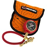 ARB ARB505 E-Z Deflator Kit 10-60 PSI Tire Pressure Gauge Rapid Air Down Offroad Kit (PSI),Orange