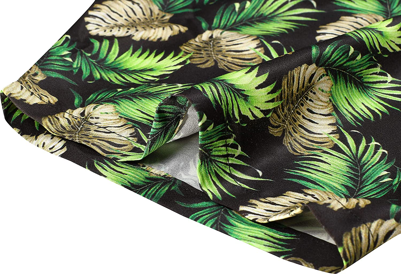 HAPPY BAY 3D Button Down Short Sleeve Casual Hawaiian Beach Shirts Men DRT216
