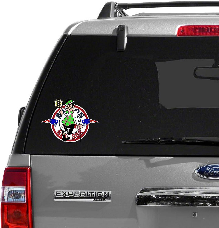 Boston Celtics Logo NBA Color Die Cut Vinyl Sticker Car Window Hood Bumper Decal