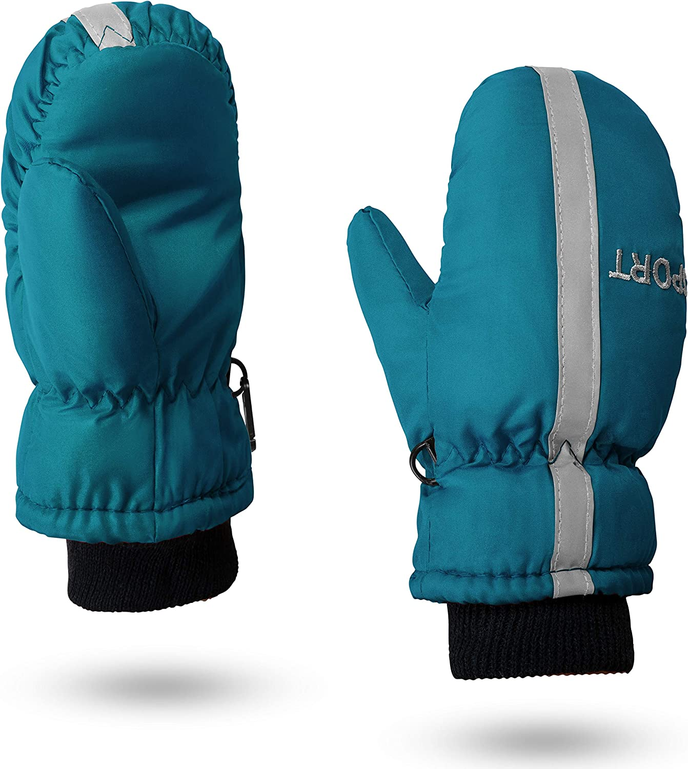 Kids Ski Snow Gloves for Toddler Girl 2T 5T