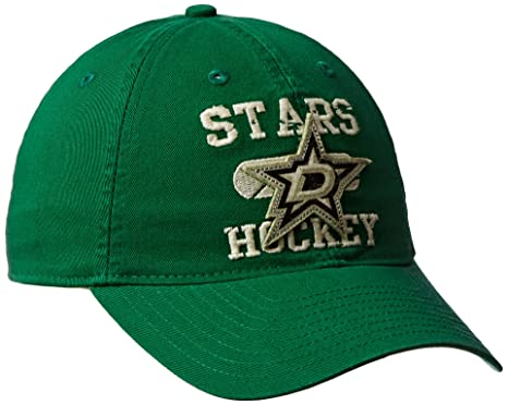 814a707d NHL Dallas Stars Men's Face-Off Goal Adjustable Slouch Cap, One Size, Green