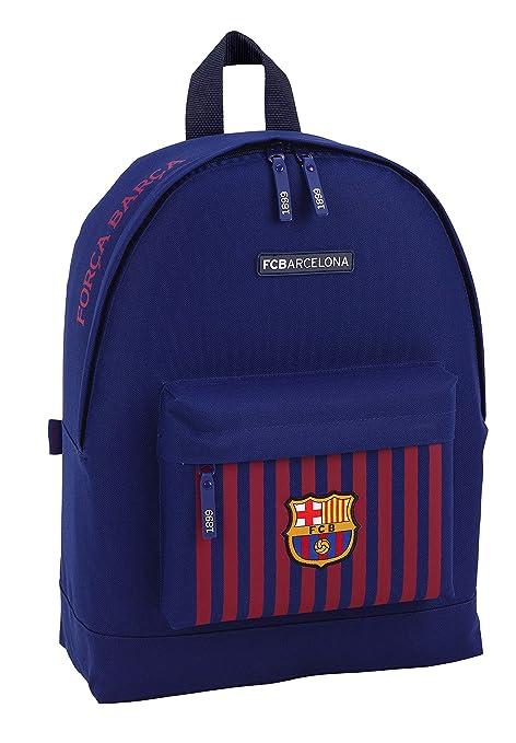 FC Barcelona 611829174 2018 Mochila Escolar, 43 cm, Azul