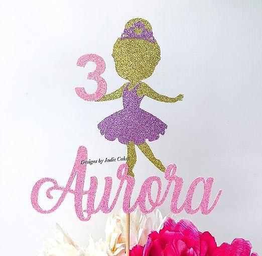 Decoración para tarta de bailarina de bailarina de ...