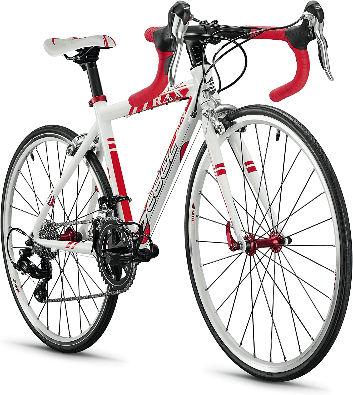 scool raX 24 - Bicicleta Carretera junior para niños - rojo ...