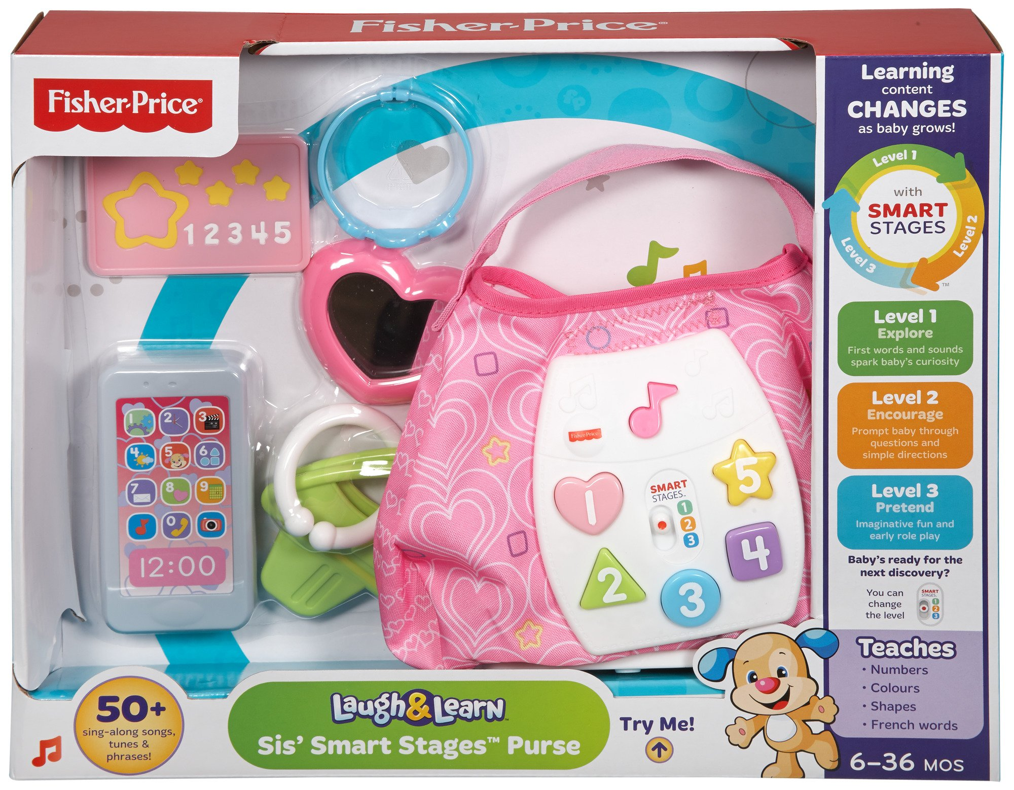 Fisher-Price Laugh & Learn Sis' Smart Stages Purse by Fisher-Price (Image #5)