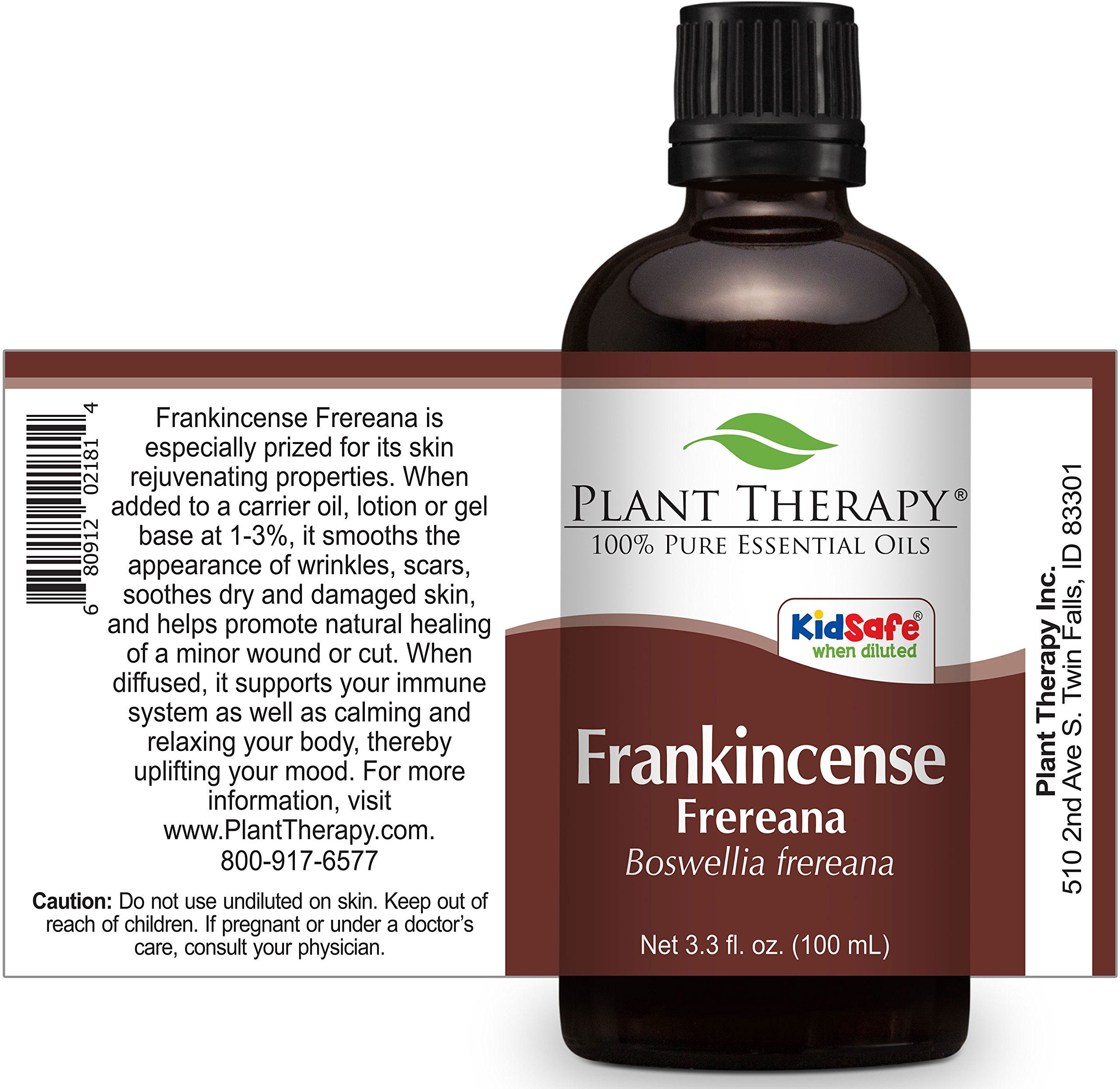 Plant Therapy Frankincense Frereana Essential Oil | 100% Pure, Undiluted, Natural Aromatherapy, Therapeutic Grade | 100 milliliter (3.3 ounce) by Plant Therapy (Image #2)