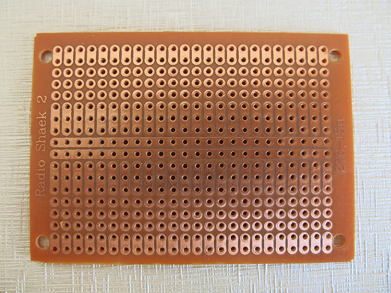 10 pcs lot 5x7cm 2er 3er joint hole universal stripboard veroboard