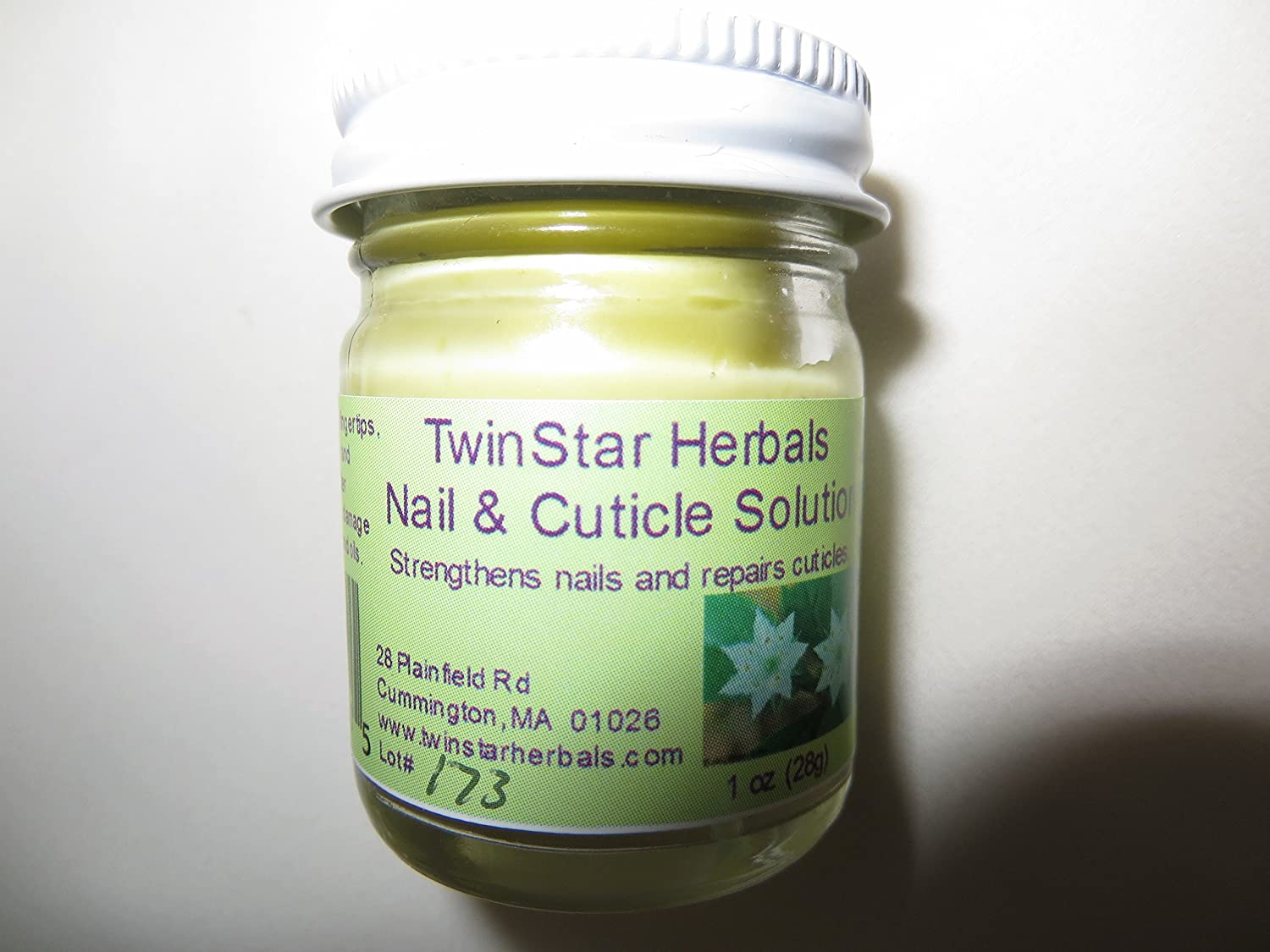 Nail and Cuticle Solution 1 oz natural organic synergistically blended herbal formula! TwinStar Herbals