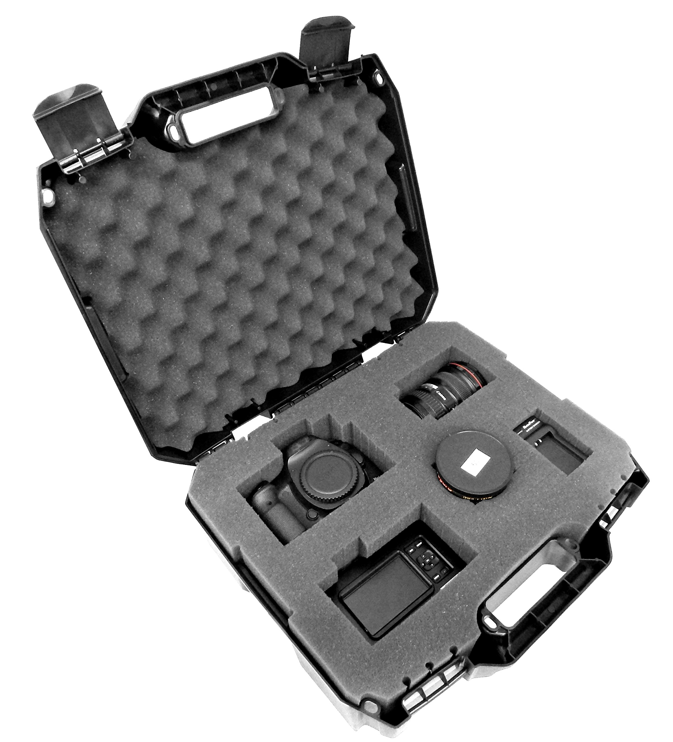 TOUGH-XL Hard-Body Travel and Storage Case Camera , Gear , Equipment and Lenses - Protects Nikon Digital SLR dSLR D3300 / D3200 / D750 / D7100 / D810 / D3100 / D5500 / D7200 / D7000 and more by CASEMATIX
