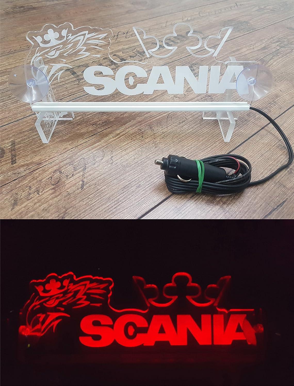 Sconosciuto 24 volt LED luce neon piastra Griffin per camion illuminante segno tavolo Cabin decorazione accessori incisione laser 24 V/5 W Unknown