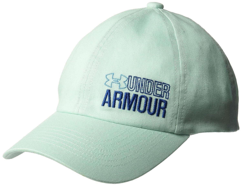 (アンダーアーマー)UNDER ARMOUR(アンダーアーマー) UA Girls Graphic Armour Cap B07235238K  Refresh Mint (703)/Canoe Blue One Size